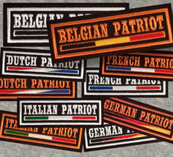 Patriot patches